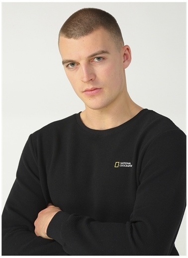 National Geographic Sweatshirt Siyah